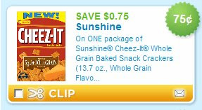 "Can't Find Your Cheez It Coupons? If the above coupon link doesn't bring you to a ""clipped"" Cheez It printable coupon, then the original offer has expired. If the link brings you to a different Cheez It coupon, then the original offer has expired and this is the next best offer."