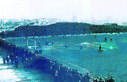 San Mamés registró una gran entrada para presenciar la final de 1921.