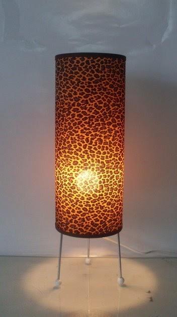 Trasluz lamparas decorativas lampara estampada de mesa m531 - Lamparas decorativas de mesa ...