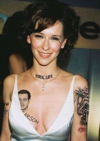 Celebrity Tattoo For Women