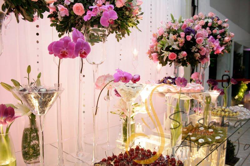 mundo da lili Decoração de Casamento Lilás e Rosa