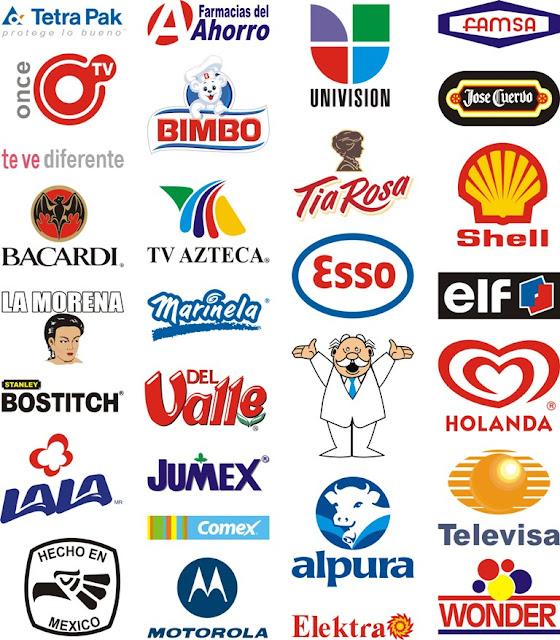 Logos y marcas mundiales con sus nombres - Imagui