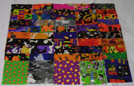 Halloween - I Spy quilt Kit