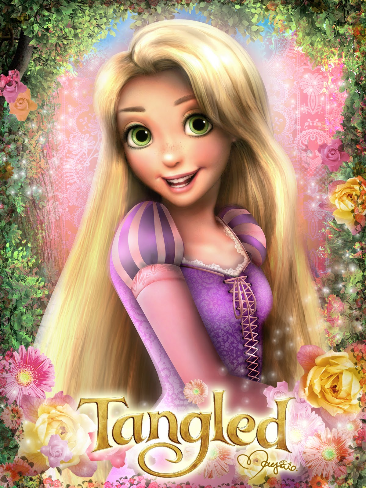 Tangled tale artworks