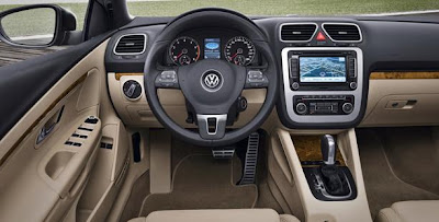 Interior of the Eos - Volkswagen
