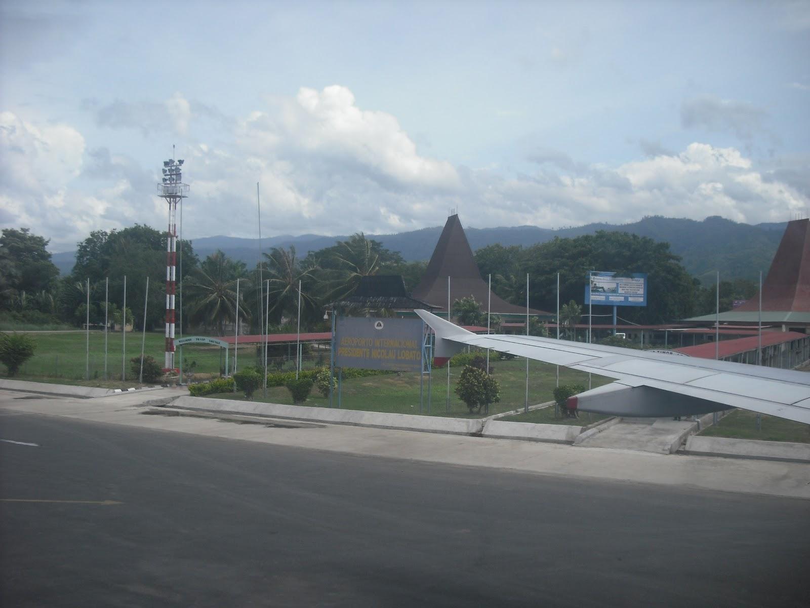 Aeroporto Dili : O novo selvagem: a última etapa da viagem e a chegada a díli