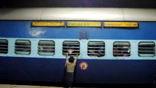 Train - Himsagar, the train with the longest route in India (Jammu Tawi to Kanyakumari)