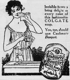 Colgate's Cashmere Bouquet Toilet Soap