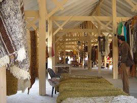 Feria artesanal interior