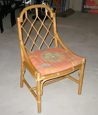 After Reading A Fellow Blogger 8 Foot 6 S Toronto Craigslist Scavenger Blog  I Was So Happy To Pick Up Four Of These Rattan Bamboo Chairs For 40 AM  Dolce ...
