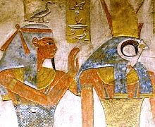 Beautiful images of Egyptian gods and goddesses