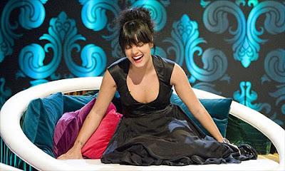 British pop singer Lily Allen smile photo