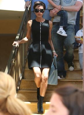 Victroria Beckham in Lingerie Photoshot