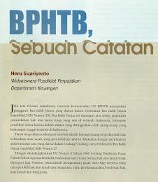 BPHTB, Sebuah Catatan