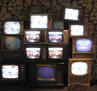 Smithsonian Exhibit TVs