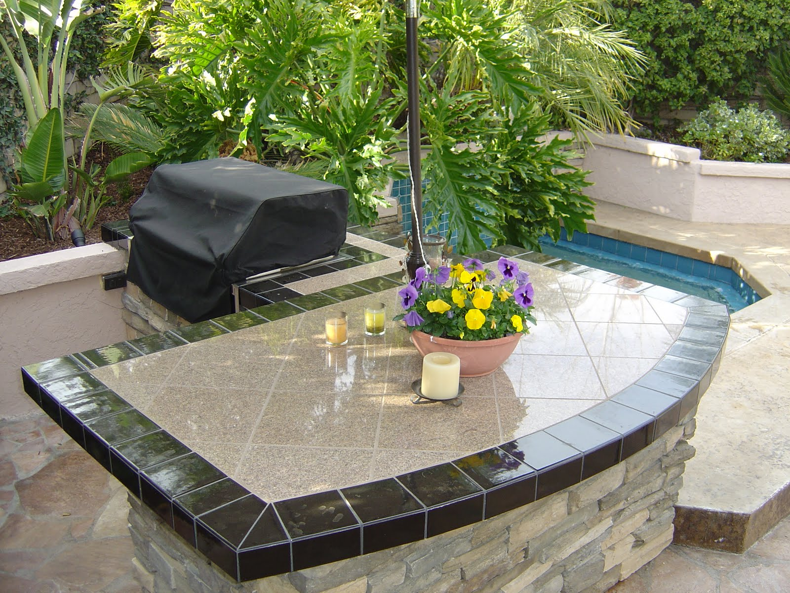 Outdoor Kitchen Tile ~ Furniture Inspiration & Interior Design