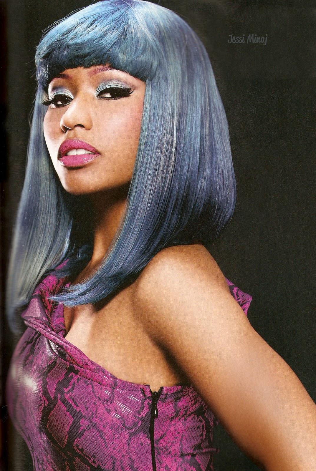 Nicki Minaj Black Hair Sophisticate's black hair