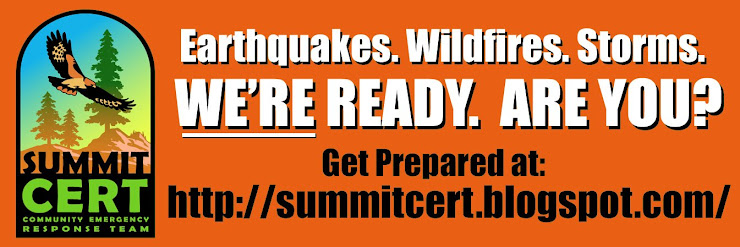 Summit CERT - We're ready...Are you?