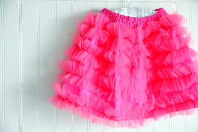 crafts for summer: tulle ruffle skirt tutorial, kids craft ideas