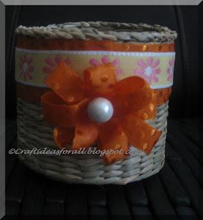 Flower Basket Craft Preschool