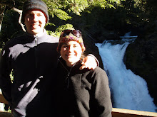 Erika and Eric at Los Alceres Falls