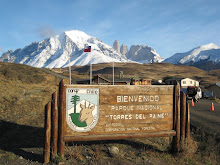 Entrance to Parque Nacional de Torres del Paine