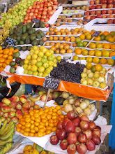 Fruit stand in Arequipa indoor market