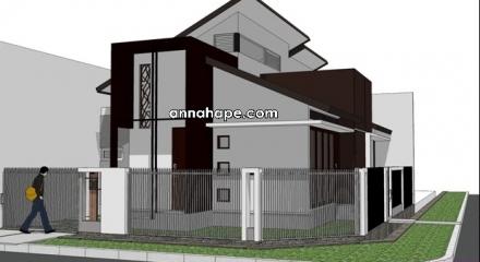 gambar rumah satu lantai minimalis on Tip 98 Berapa Tinggi Plafon Rumah Tinggal yang Ideal? Berkreasi dengan ...