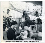 Earthlight Party at Rachel's house. Venice, CA., 1970