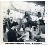Earthlight Party at Rachel's house. Venice, CA., 1970