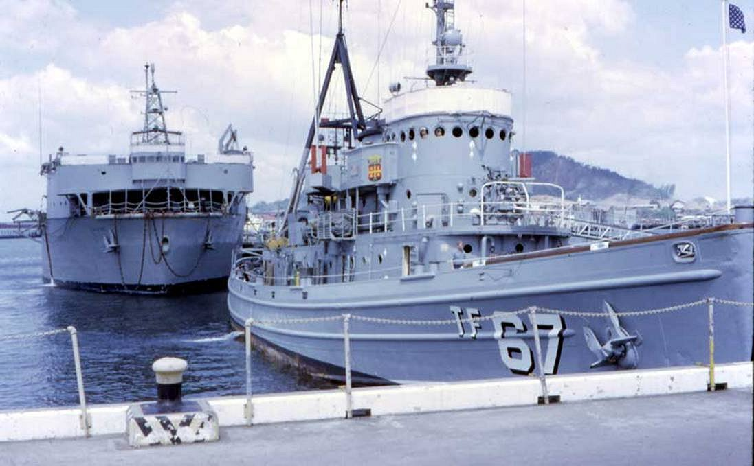 ... Station Rodman or Balboa, Panama Canal Zone, circa 28 February 1969.