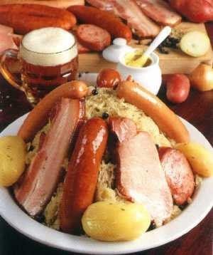 Bienvenue en france la choucroute for Alsatian cuisine