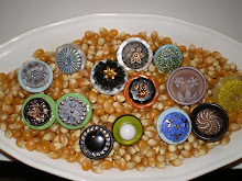 Vintage Button Rings