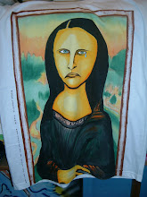 Mona Lisa's Tears TShirt(sold)