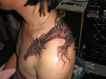 Freehand Dragon