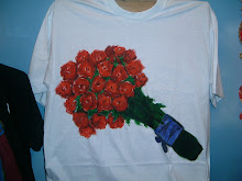 Bunch of roses for my sweetheart.(sold)