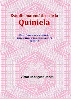 """El """" Estudio Matemático de la Quiniela """" describe un método de juego ..."""