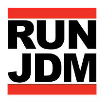 RUN JDM Decal 6x6""
