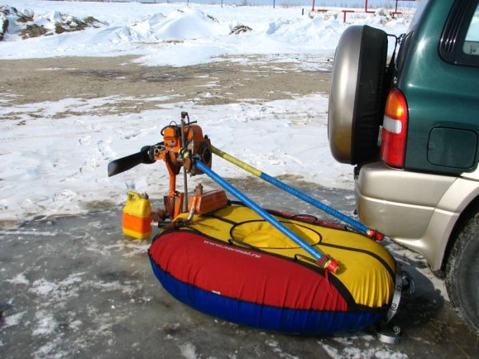 Homemade snowmobile sled car pictures