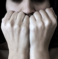 woman with anxiety disorder