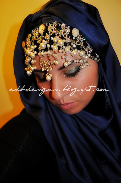 arabian wedding headpieces