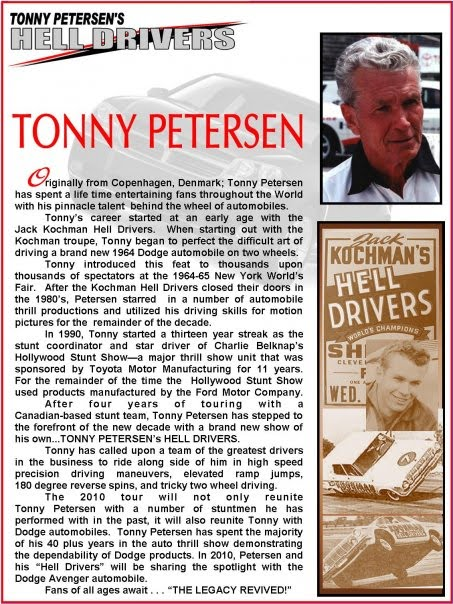 TONNY PETERSENS HELL DRIVERS ON TOUR