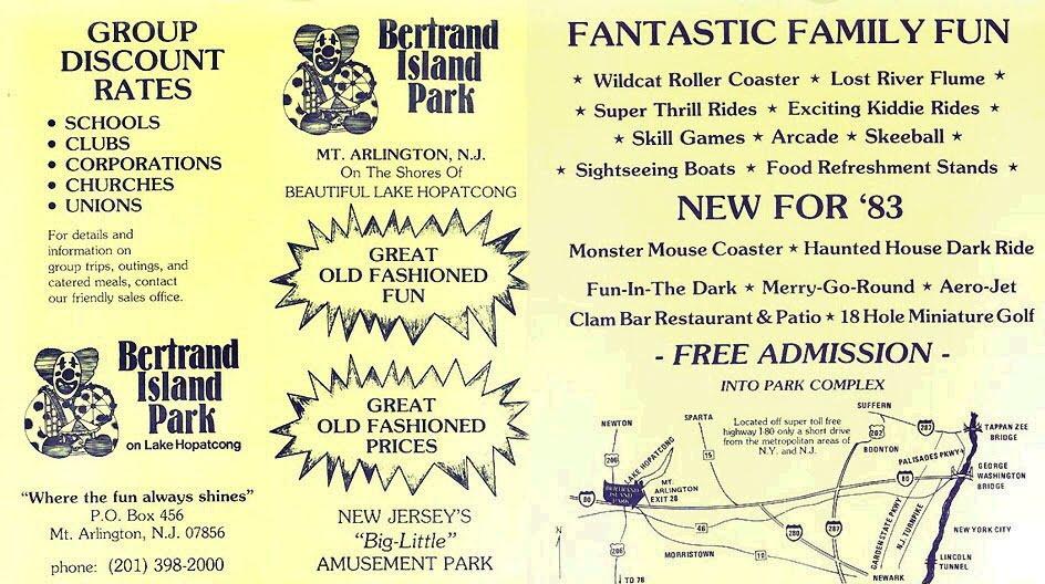Dixieland Fun Park. Bertrand Island Amusement Park