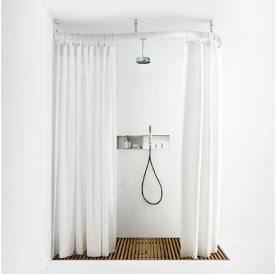 Image Result For Ceiling Mounted Circular Shower Curtain Rail