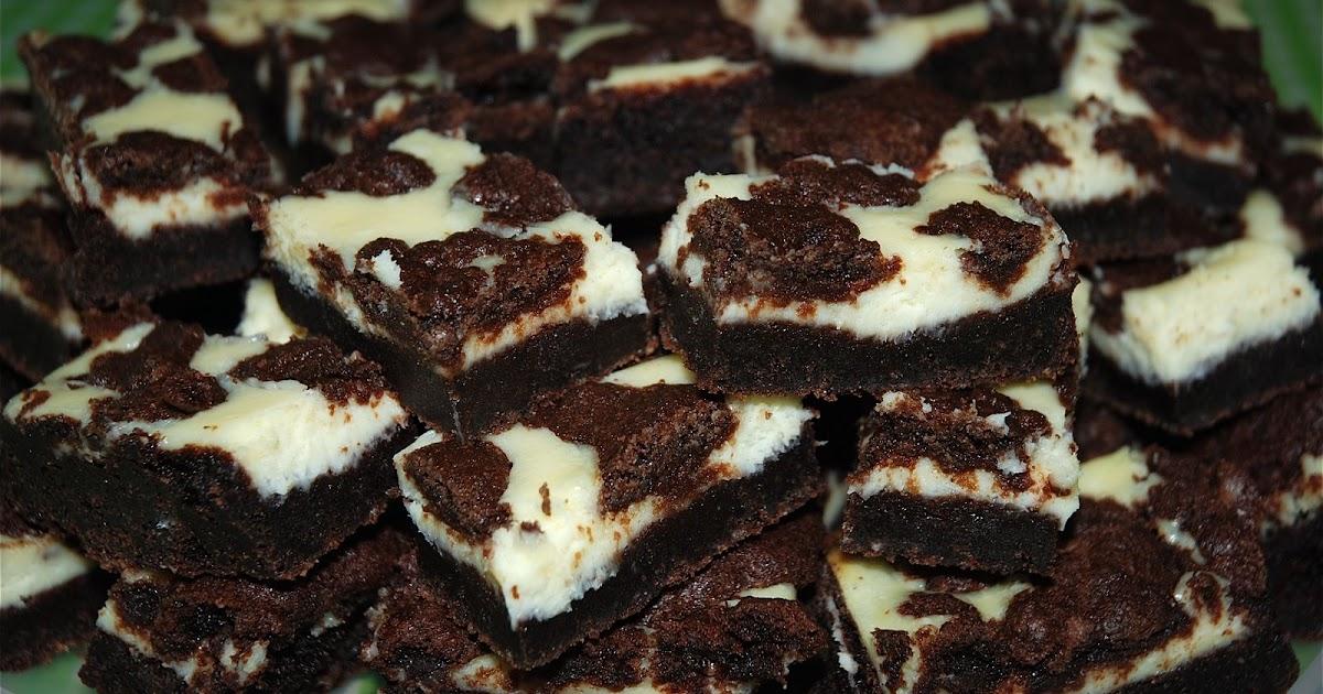 The Matthews' Menu: Black and White Cheesecake Squares