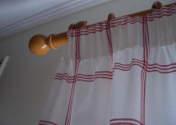 Unas cortinas para mi casa costura y artesan as hogar y for Como poner ganchos de cortinas
