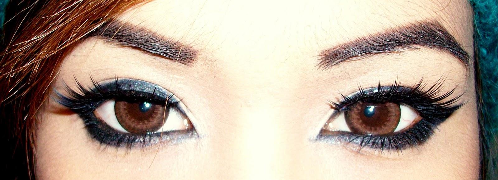 Как из карих глаз сделать голубые в 503