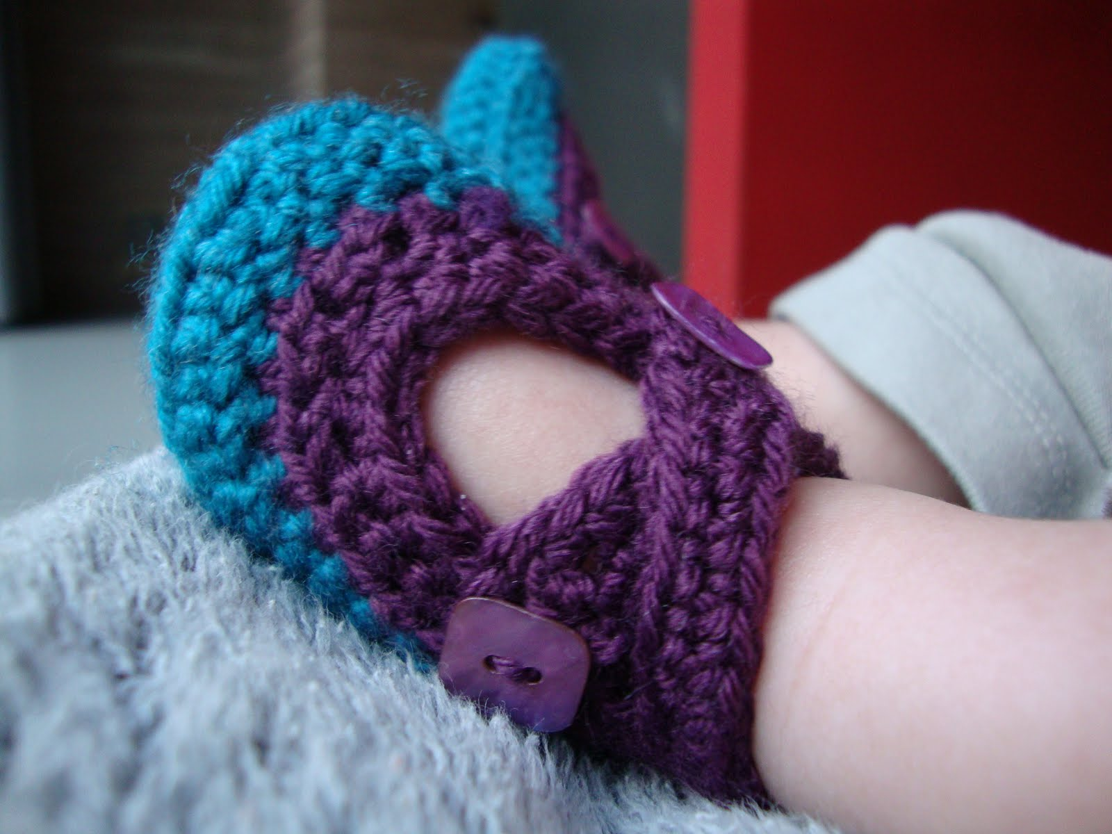 Free Pattern Crochet Baby Shoes Booties