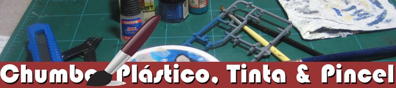 Chumbo, Plástico, Tinta & Pincel