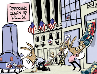 Democrats Try to Clean Up Wall Street